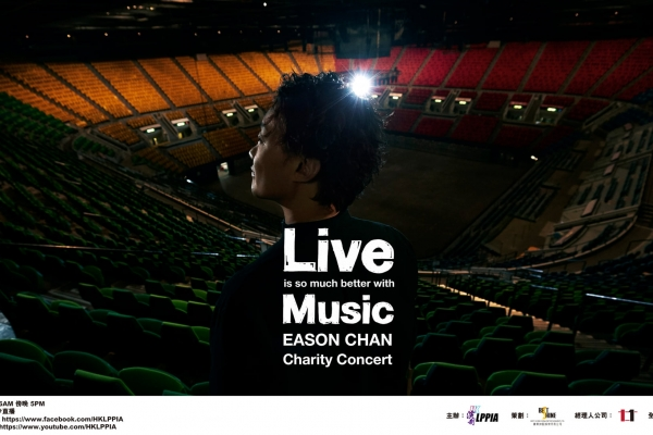 Live is so much better with Music Eason Chan Charity Concert